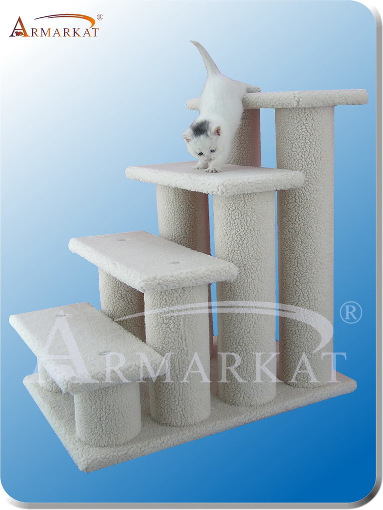 Cat Tree Store B4001 4-Step Pet Stairs