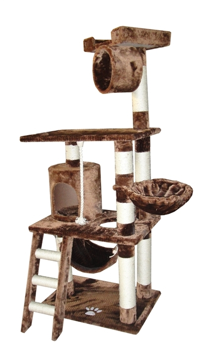 Cat Tree Store Boston Mocha Cat Tree/Cat Tower/Cat Condo