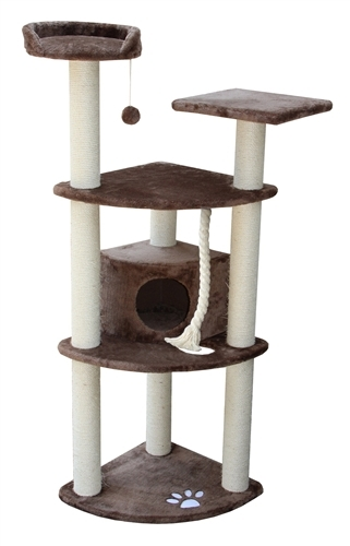Cat Tree Store Toronto Mocha Cat Condo/Cat Tower/Cat Tree