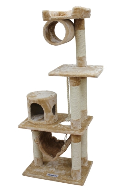 Cat Tree Store Dallas Beige Cat Condo/Cat Tower/Cat Tree
