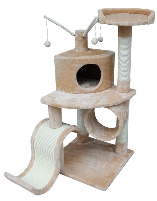 Cat Tree Store Memphis Beige Cat Tree/Cat Tower/Cat Condo
