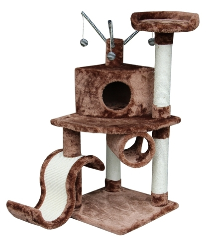 Cat Tree Store Memphis Brown Cat Tree/Cat Tower/Cat Condo