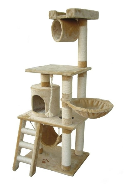 Cat Tree Store Boston Beige Cat Tree/Cat Tower/Cat Condo