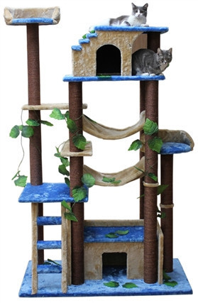 Cat Tree Store Amazon Green Brown Cat Tree/Cat Tower/Cat Condo
